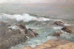 Rolling Surf  14x18