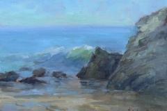 Leo Carrillo Beach  9x12