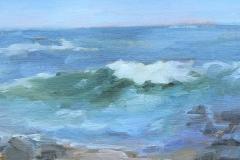 Emma Wood Beach  6x12  sold